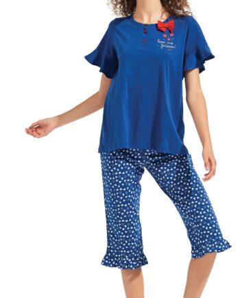Γυναικεία-Πιτζάμα-NOIDINOTTE-Μπλε-κάπρι-scaled-1.jpg