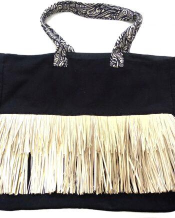 Γυναικεία-Τσάντα-Θαλάσσης-LUNA-Hawaii-Μαύρη-scaled-1.jpeg