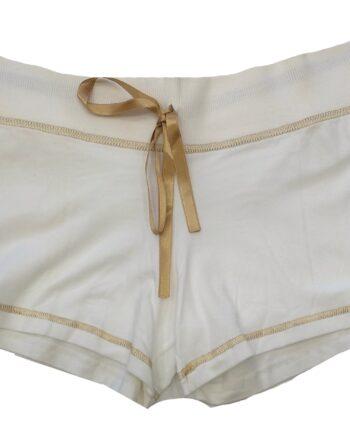 Γυναικείο-Κοντό-Σορτς-MINERVA-Λευκό-scaled-1.jpeg