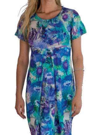 Γυναικείο-Φόρεμα-Frasi-Μπλε-Εμπριμέ-floral-κοντομάνικο-1.jpg
