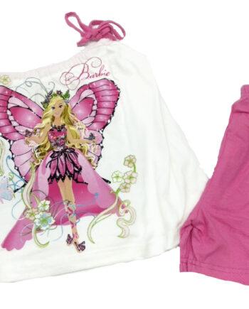 Παιδική-πιτζάμα-MINERVA-Κορίτσι-Barbie-Mariposa-Λευκό.jpeg