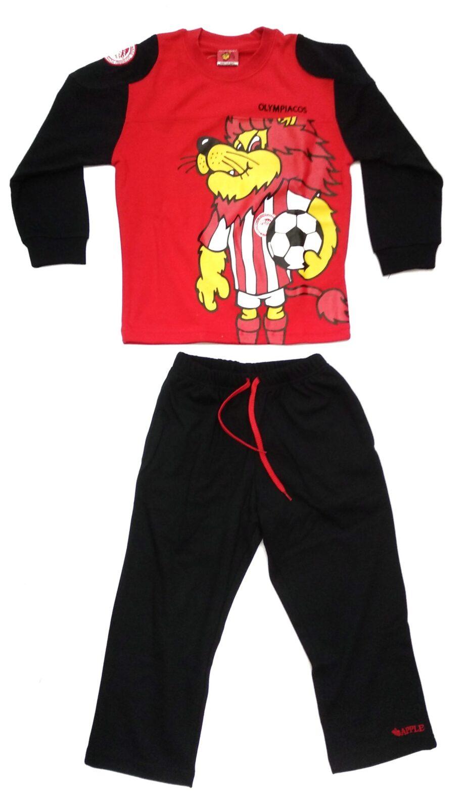 Παιδική-πιτζάμα-ΟΛΥΜΠΙΑΚΟΣ-κόκκινη-scaled-1.jpeg