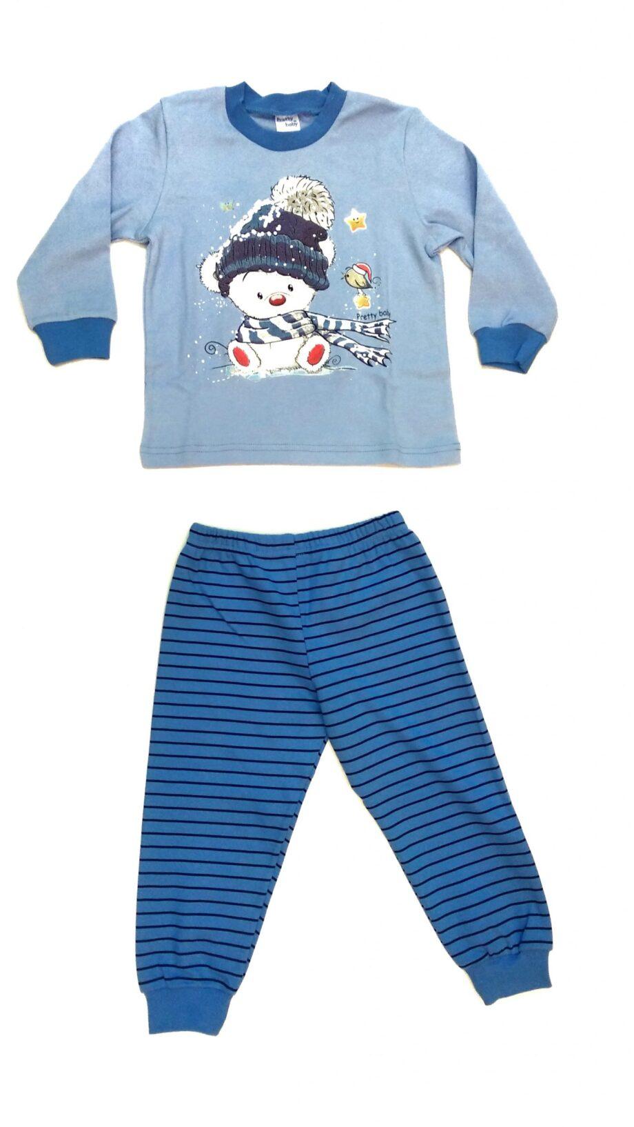 Παιδική-πιτζάμα-Pretty-baby-αγόρι-snowmsn-scaled-1.jpeg