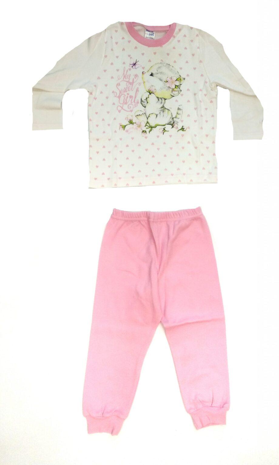 Παιδική-πιτζάμα-Pretty-baby-λευκή-γατούλα-scaled-1.jpeg