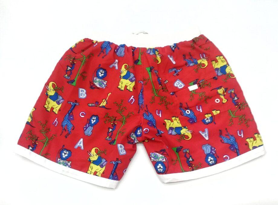Παιδικό-Μαγιό-TRES-CHIC-Βερμούδα-Ζοο-Αγόρι-Κόκκινο-back-scaled-1.jpeg
