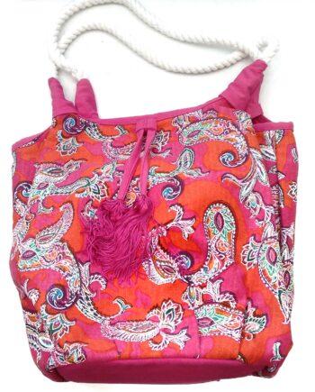 Τσάντα-Θαλάσσης-TRIUMPH-Paisley-Folk-Bag-Φούξια-scaled-1.jpeg