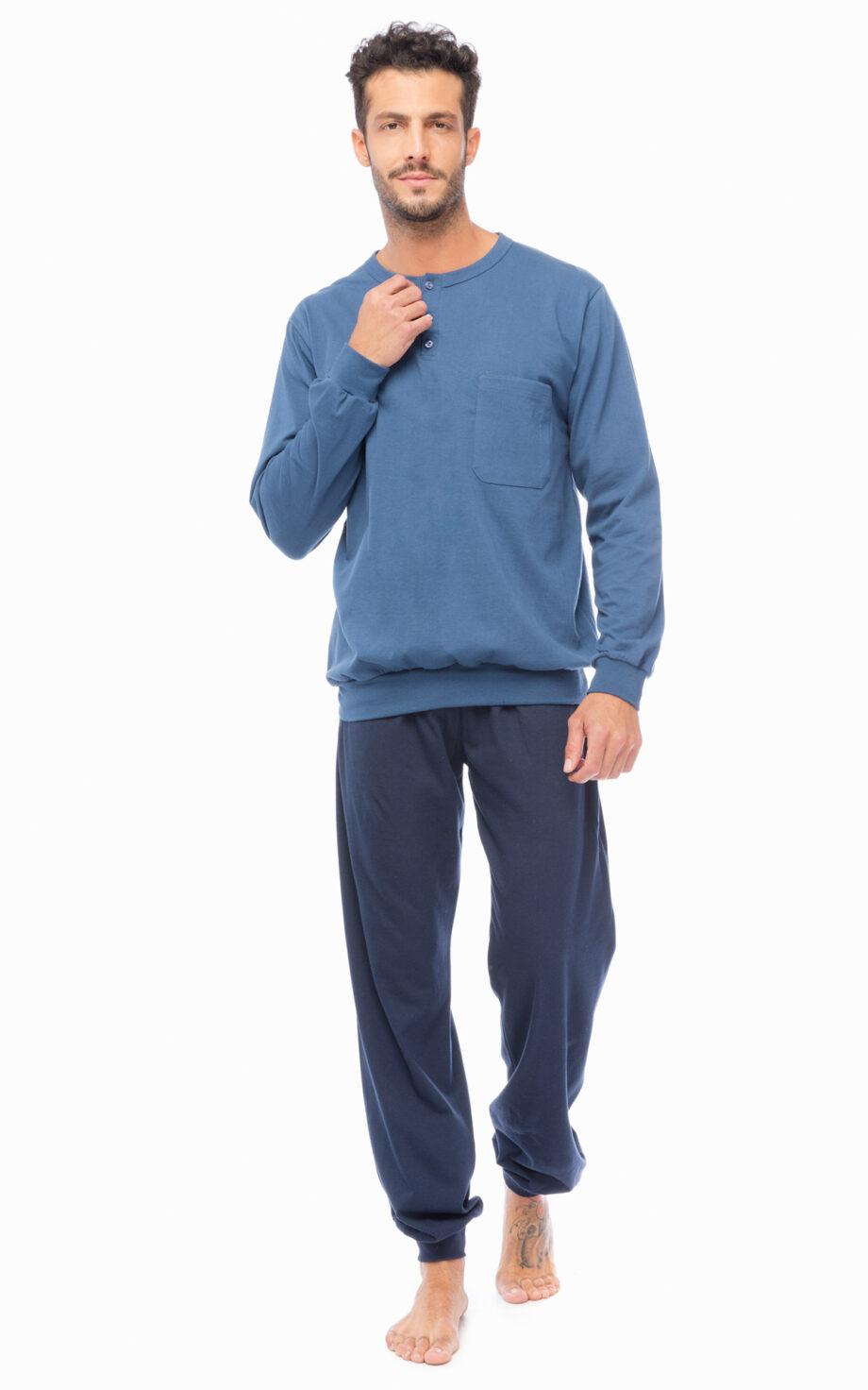 90-70826_386-Plain-pijama-man-με-πατιλέτα-τσέπη.jpg