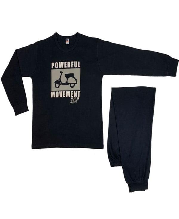 780 pijama man nina club