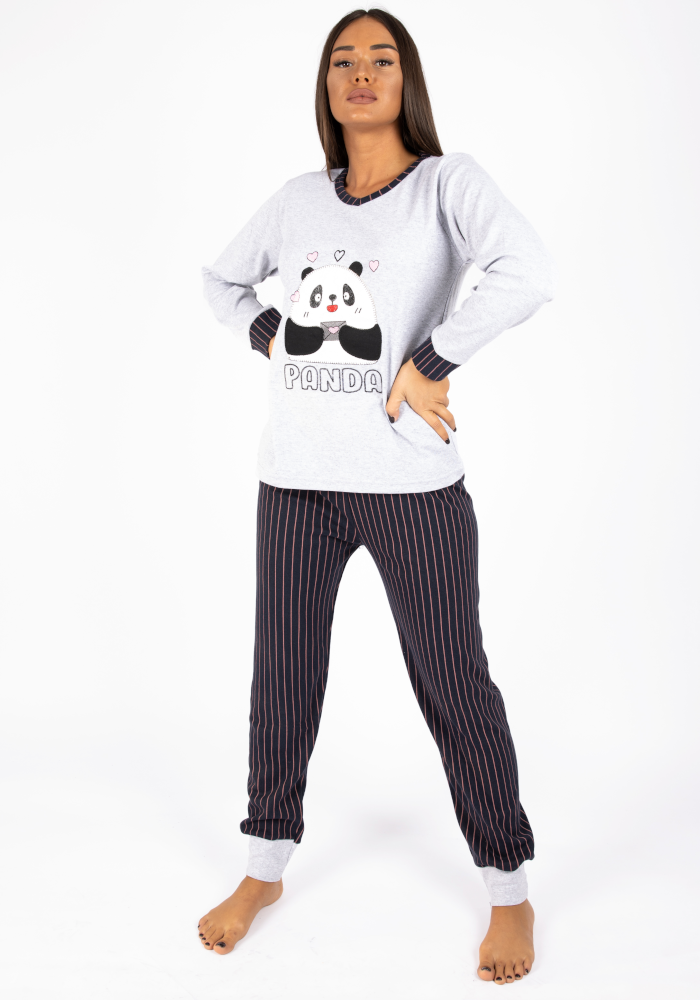 panda pijama gkri front
