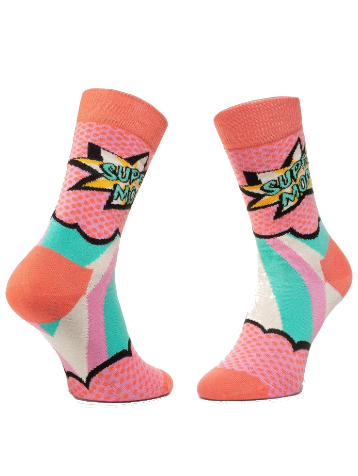 super mom socks side