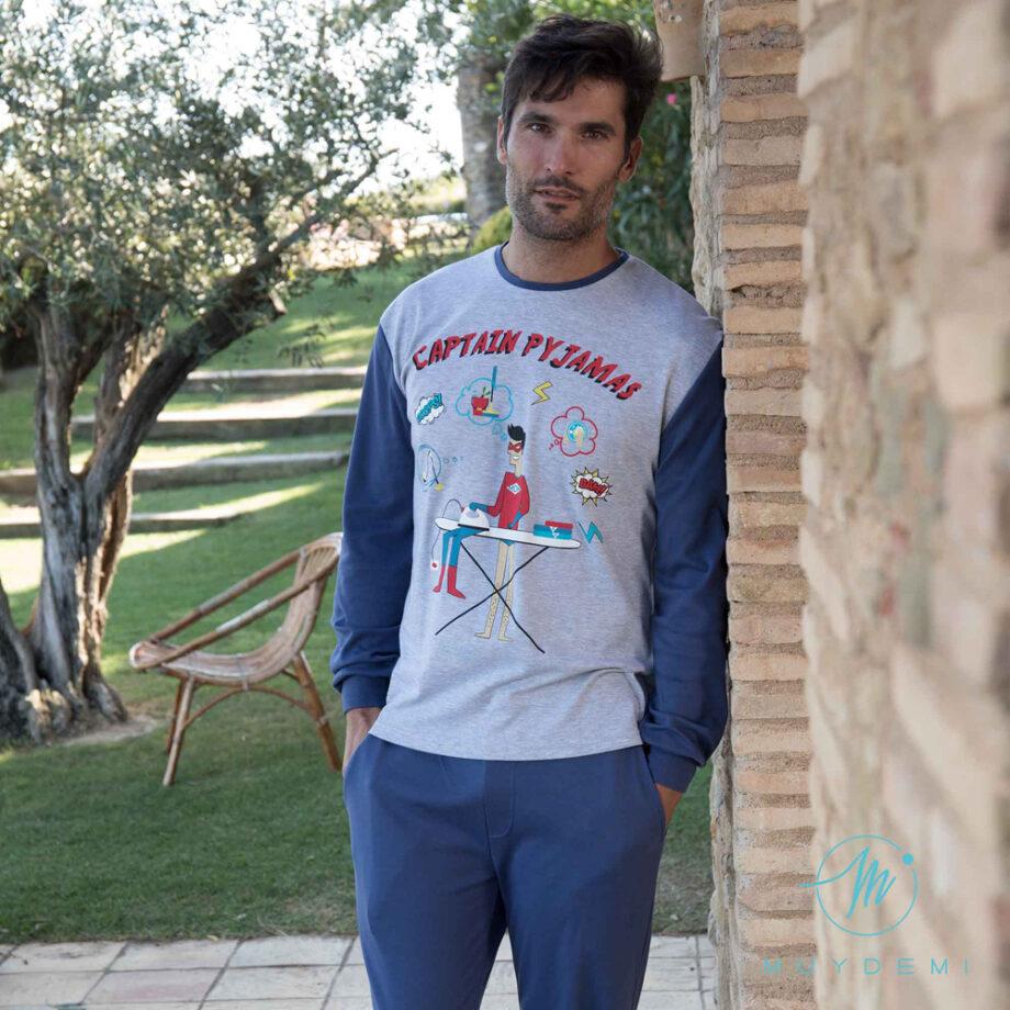 310019 pijama man captain pyjama