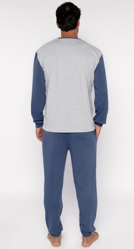 310019 pijama man captain pyjama back