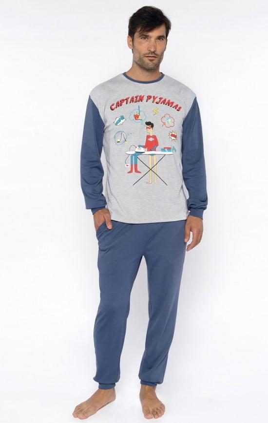 310019 pijama man captain pyjama front