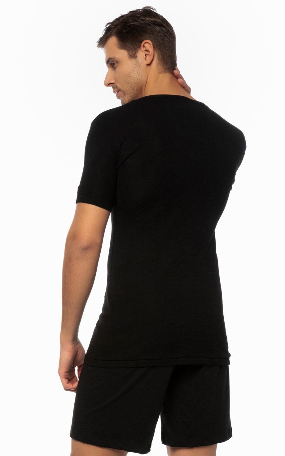 90-10303 φανελάκι μαύρο back