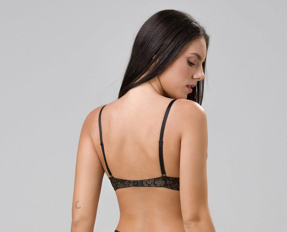 Burlesque 14102 super push-up black back