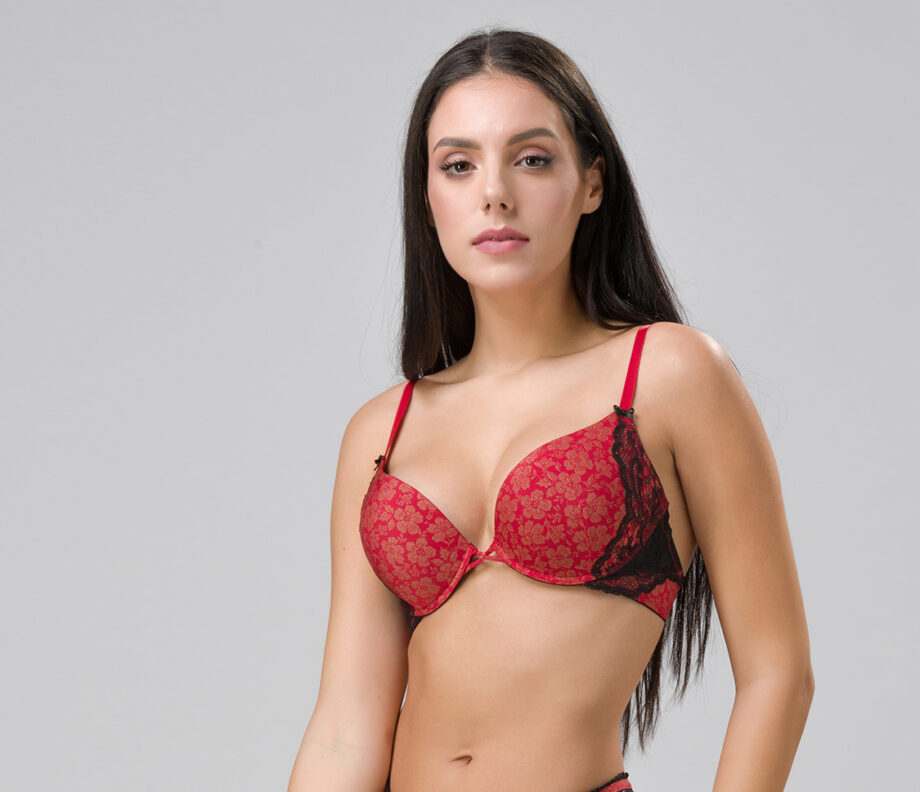 Burlesque 14102 super push-up red side