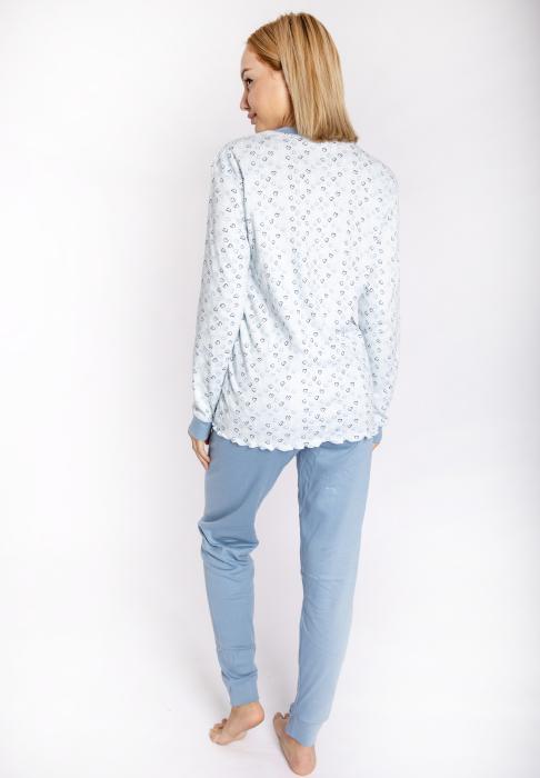 maristella 2607 pijama siel back