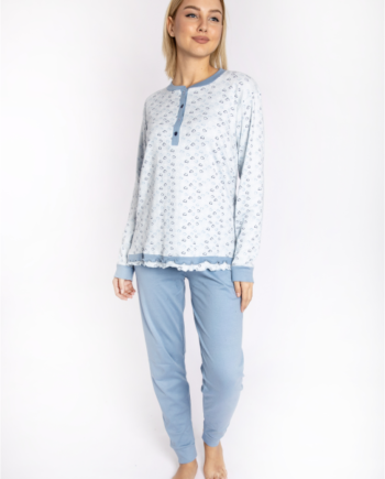 maristella 2607 pijama siel front