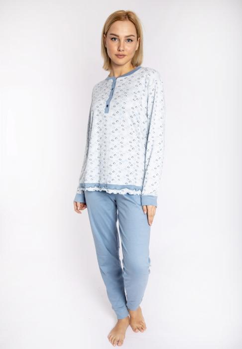 maristella 2607 pijama siel front1