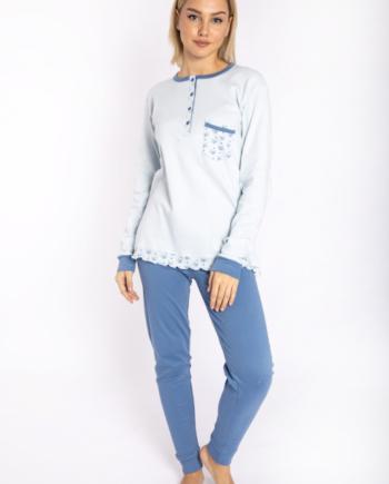 maristella 2616 pijama siel front