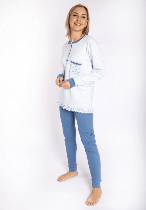 maristella 2616 pijama siel side