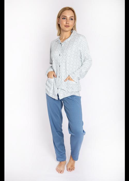 pijama_poukamiso_louloudakia_blue_front2