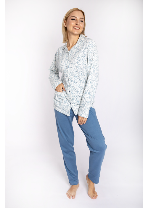 pijama_poukamiso_louloudakia_blue_front3
