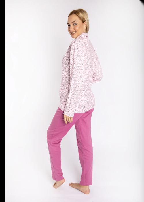 pijama_poukamiso_louloudakia_pink_back2