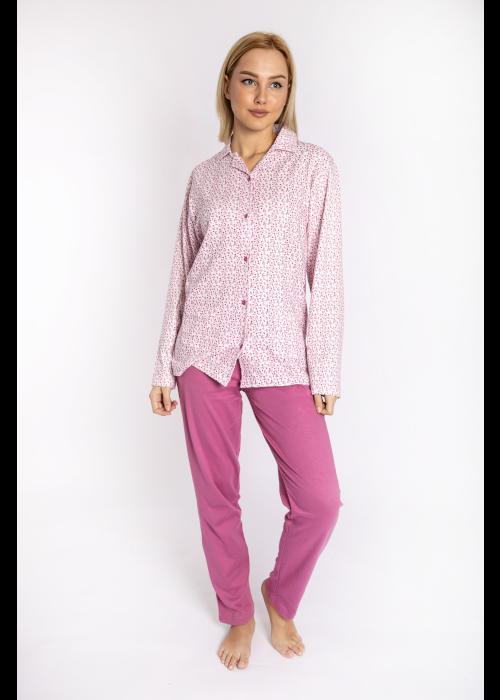 pijama_poukamiso_louloudakia_pink_front