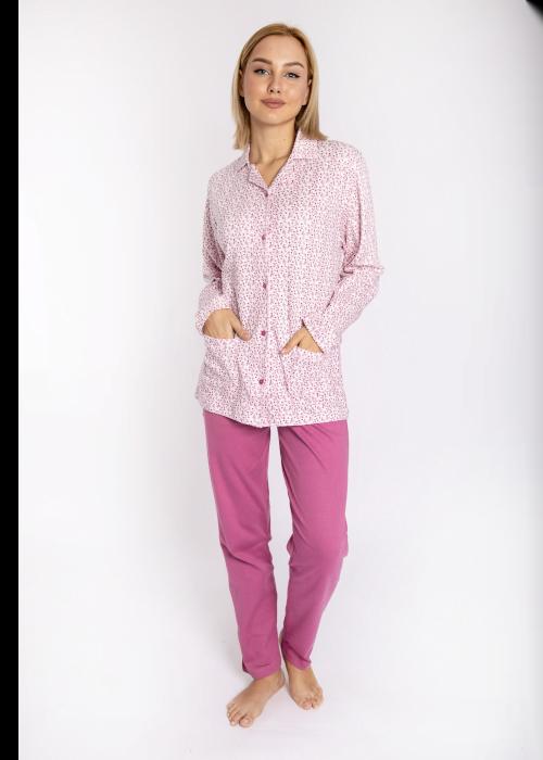 pijama_poukamiso_louloudakia_pink_front3