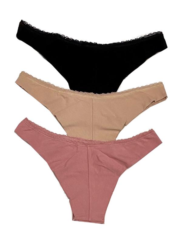 tres chic 3pack underwear back