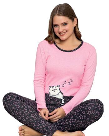Pijama woman Zzz cat