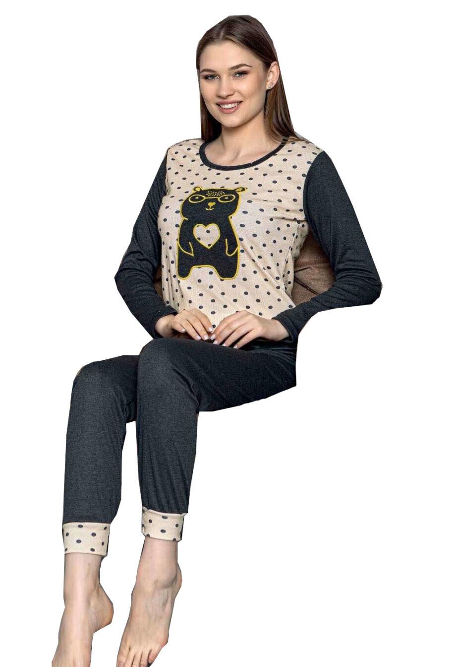 Pijama woman bear poua
