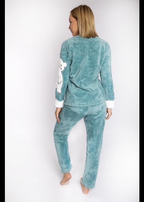 pijama_fleece_polarbear_beraman_back