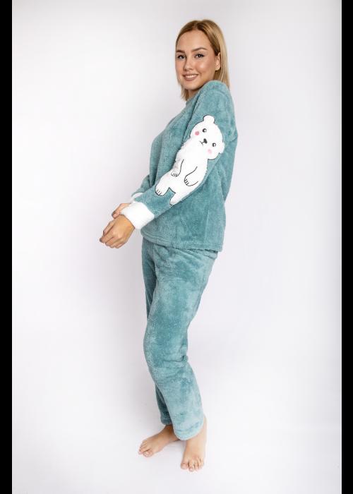 pijama_fleece_polarbear_beraman_front