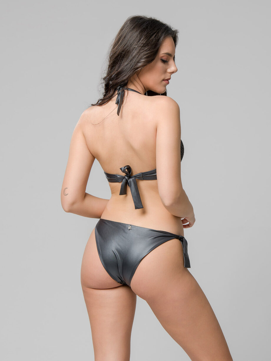 Glamour 93582 triangle with cups & 93583 side tie bottom back